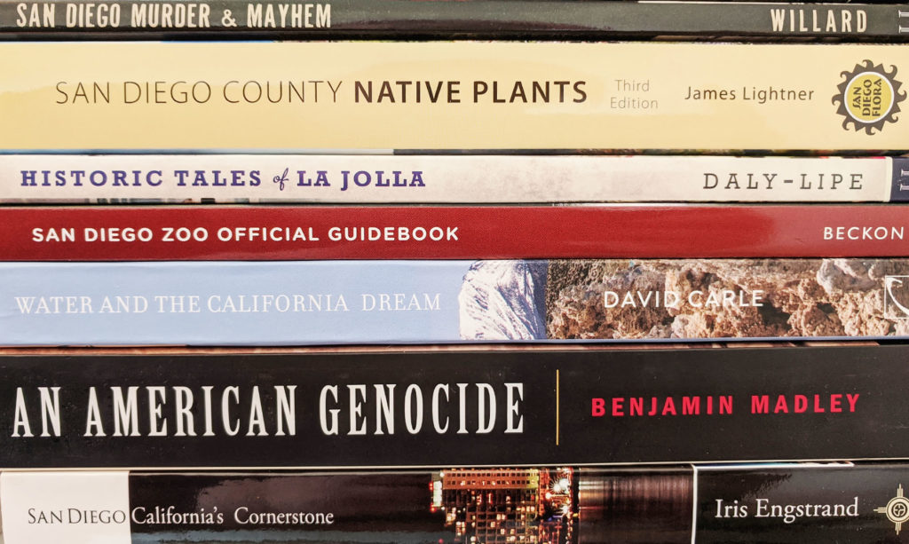 Books about San Diego